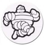 """Aufkleber """"Michelin"""", rund"""
