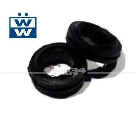 Satz Wischerwellendichtungen 2-teilig, passend für Modelle von 08/57-07/69, original Qualität Käfer,Wischerwellendichtungen
