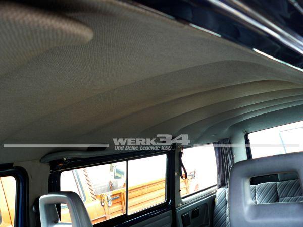 Innenhimmel in schwarz für Fensterbus T3, z.B. Multivan etc.