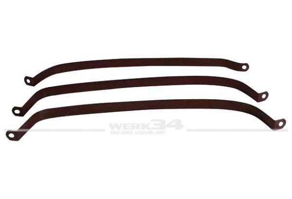 Anbausatz für Tank / Spannbänder, passend für Golf II +III
