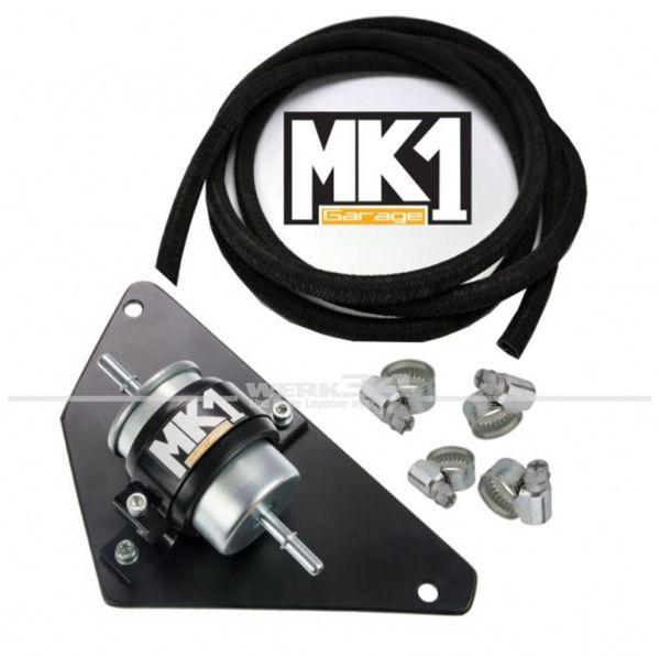 MK1 Garage Halter für Kraftstofffilter komplett Set, passend für Golf I