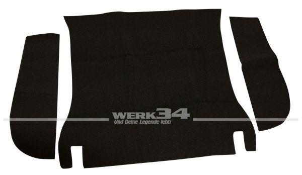 Kofferraumteppich Typ 3 61 bis 07/69 schwarz Schlinge