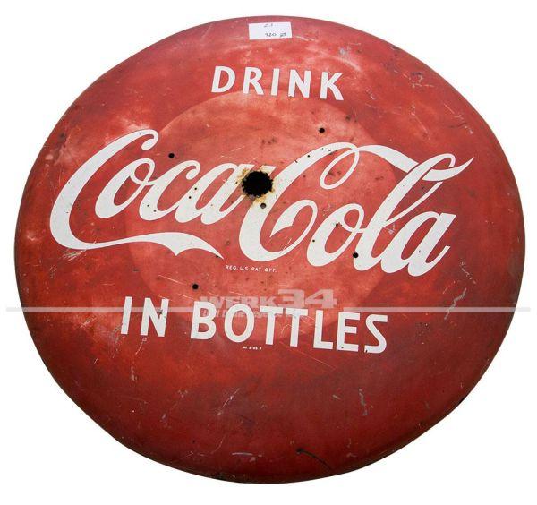 Blechschild Coca Cola Ø 920mm