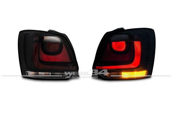 Rückleuchten Klarglas schwarz passend für Polo 6R