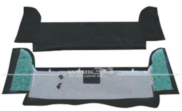Kofferraumverkleidung, passend für Golf II