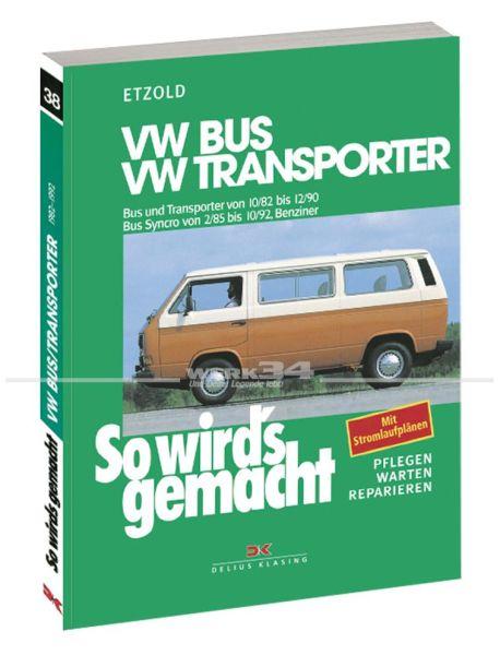 So wird's gemacht - Bus/Trans. '82-'90 Benziner