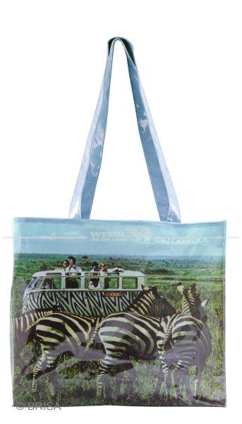 """VW Bulli PVC Shopper Bag """"Safari"""""""