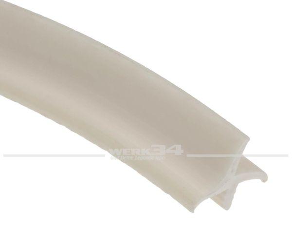K-Kantenprofil, für 16mm Plattenstärke, weiß/crème, Preis pro Meter