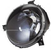 Scheinwerfer Klarglas, schwarz, passend für Lupo