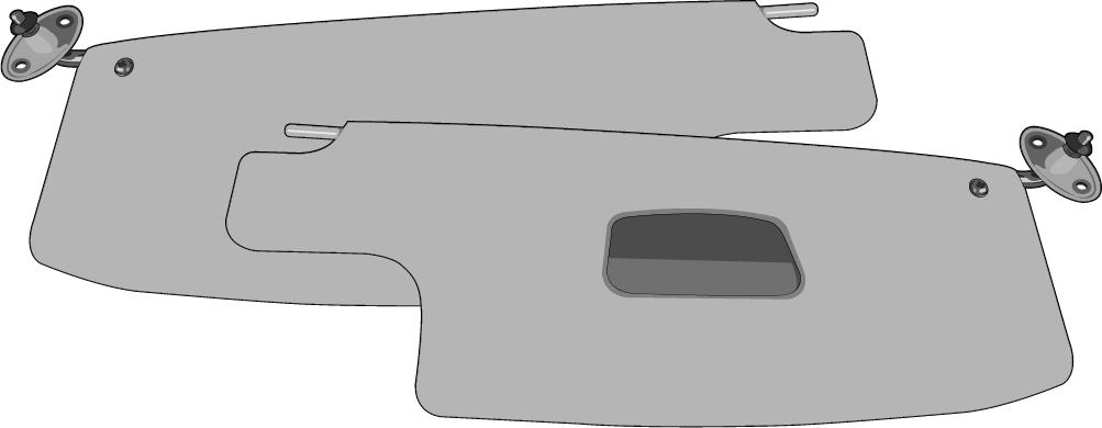 1600 Ascher VW Typ 3 1500 Aschenbecher hinten NOS