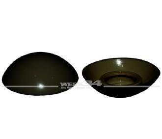 Abdeckkappe für Stossstangebolzen für Bus T2/ T3 und LT, schwarz, Stück