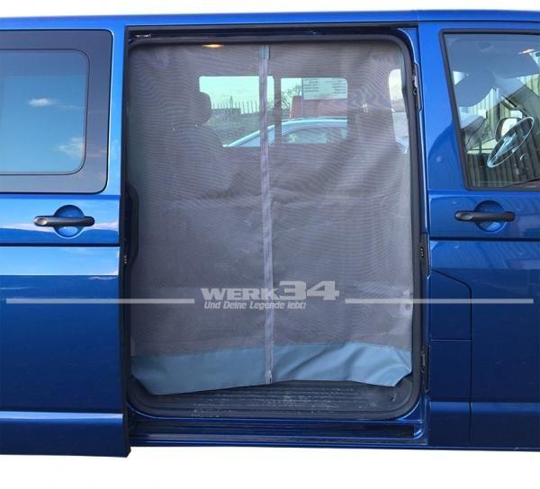 Moskitonetz für Schiebetür passend für Bus T5 + T6
