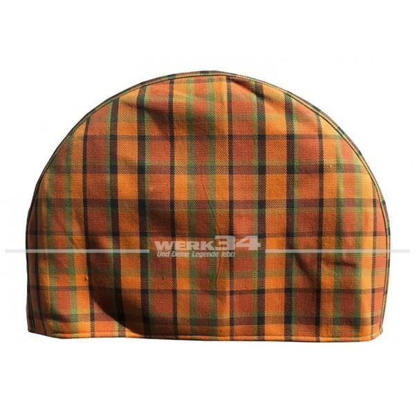 Abdeckung / Bezug für Reserverad, orange, passend für Westfalia Bus T2