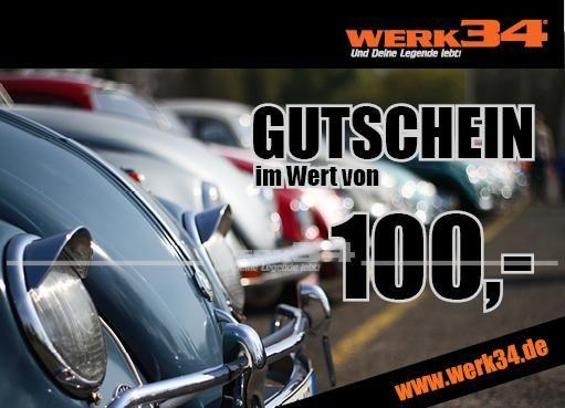 Geschenk - Gutschein im Wert von 100 Euro, Motiv: Käfer