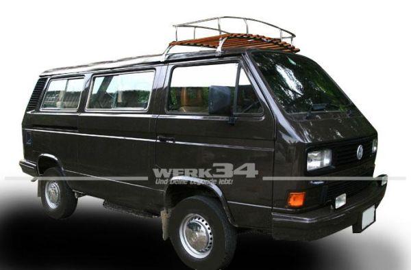 Dachgepäckträger Westfalia-Style Nachfertigung in spitzen Qualität, passend für T3, mit 2 Bögen