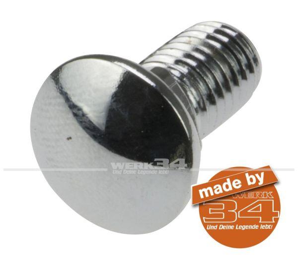Chromschraube für Stoßstange M 8 x 15