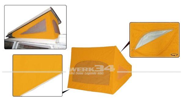 Zelt Westfalia Hubdach / Klappdach, passend für Modelle von 08/67-07/73, maisgelb