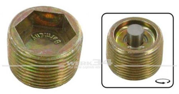 Getriebe Öl-Ablassschraube mit Magnet M24x1.5