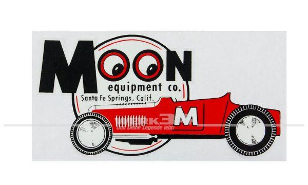 "Aufkleber ""MOON equipment co."""