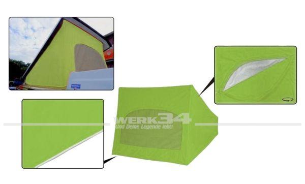 Zelt für Westfalia Hubdach / Klappdach, passend für Modelle von 08/73-07/79, baligrün