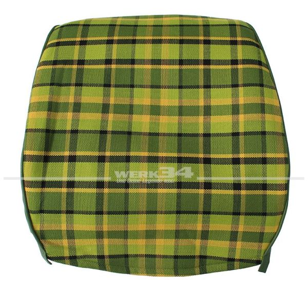 Bezug für Sitzlehne, Rückenteil geschlossen, grün, passend für Westfalia T2B