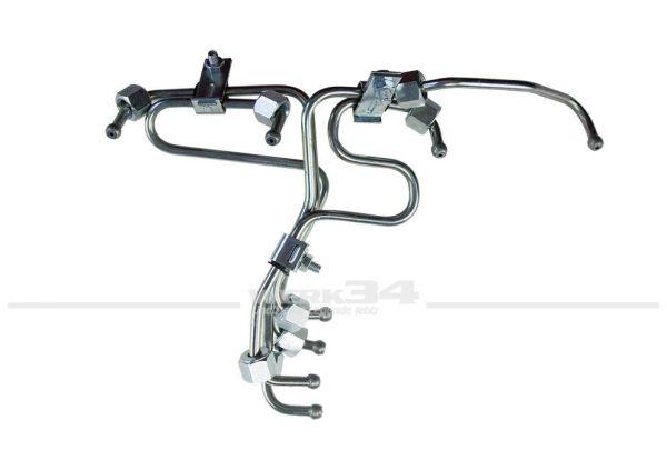 Satz Einspritzleitungen für Bus T3 CS KY Motoren, Golf, Jetta und Passat Diesel