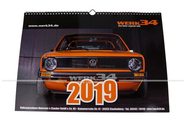 WERK34 Kalender 2019
