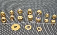 Hutmutter V2A gold M6