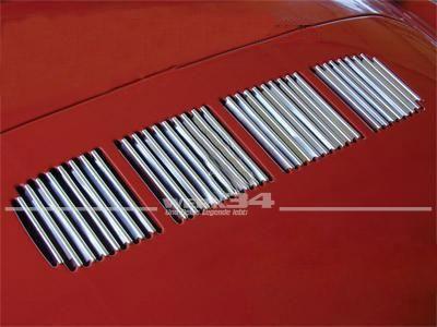 Zierleistensatz für Motorhaube