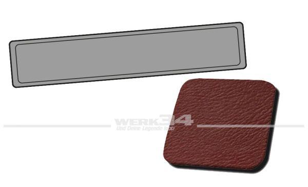 Verkleidung Heckklappe rot, passend für Typ 3 Variant, Bj. 1968-73