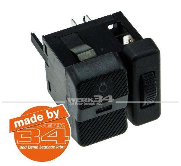 Schalter für Scheinwerfer mit Regler Passat | Polo | T4