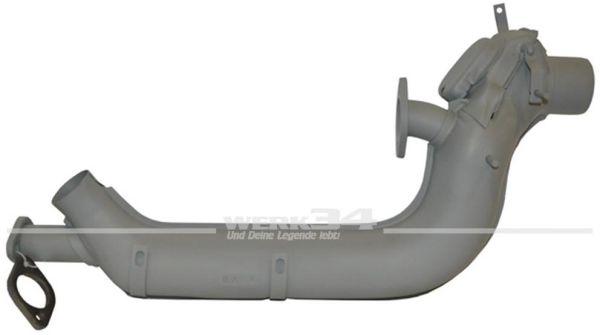 Wärmetauscher links, mit größerem Innendurchmesser (35 mm)