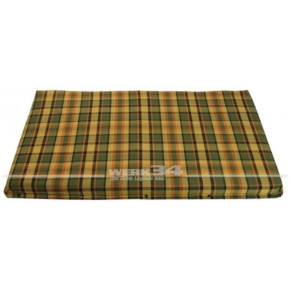 Bezug für Matratze im Schlafdach, klein, gelb, passend für Westfalia T2B