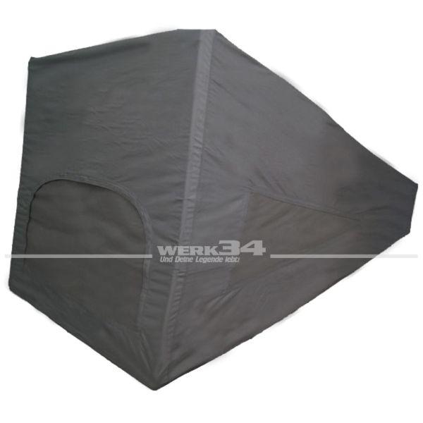 Zelt für Westfalia Hubdach / Klappdach, grau, mit 3-Fenster passend für Modelle ab 08/85-