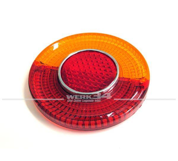 Rücklichtglas Karmann Ghia Typ34, rot / orange