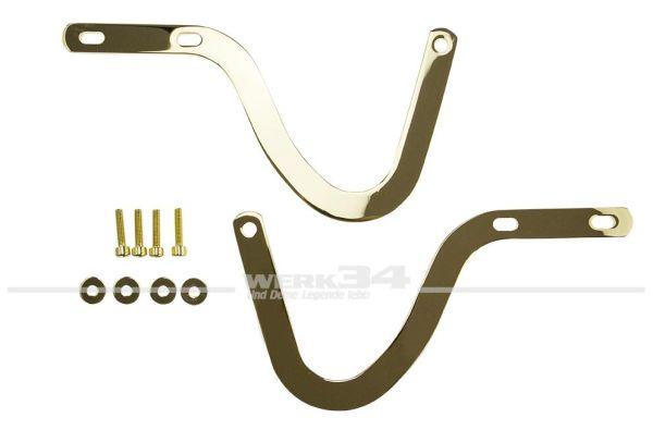 Motorhaubenscharnier V2A gold