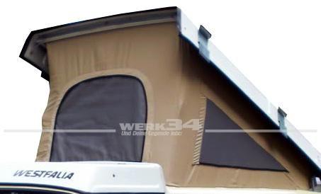 Zelt für Westfalia Hubdach / Klappdach, beige, ECO-Version, passend für Modelle ab 08/85-