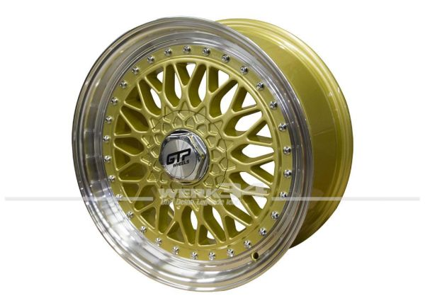 Satz GTP 040 Felgen 7,5X17 ET35 gold