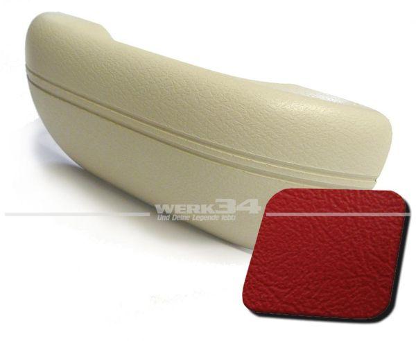 Armlehne rot, passend für alle Modelle von 08/67-07/72 und 1302