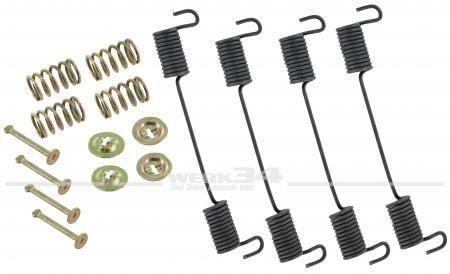 Montagesatz für Bremsbacken vorn, passend für Modelle von 08/63-07/70