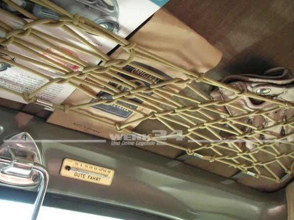 Dachgepäcknetz, bambus