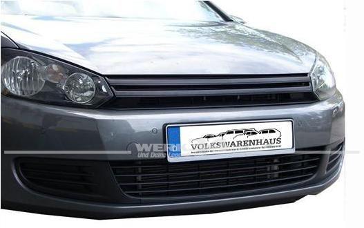 Kühlergrill ohne Emblem, passend für Golf VI ab Bj 08