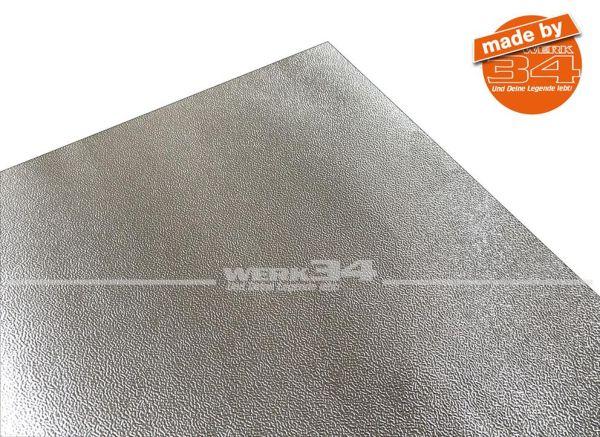 Alubutyl Dämmmatte, selbstklebend, Breite 60 cm, Preis pro Meter (Grundpreis pro qm 27,86 EURO)