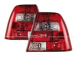 Rückleuchten Klarglas rot/weiß Bora Limousine