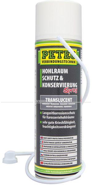 Hohlraumschutz und Konservierung, Spray, translucent, 500ml, Grundpreis 1.58Euro pro 100ml