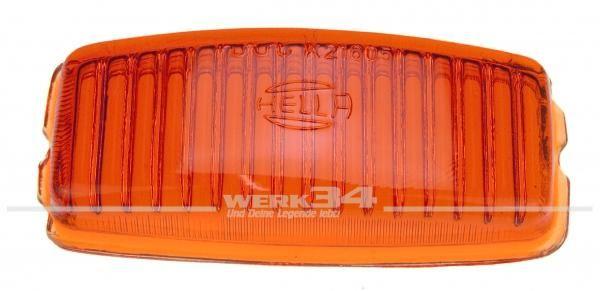 Glas für Rückfahrleuchte orange, original Hella