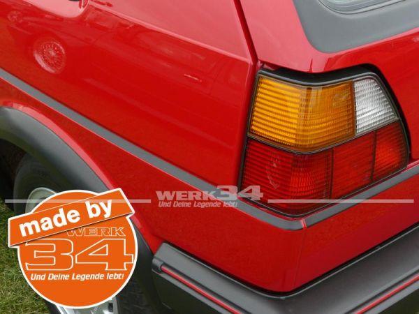 Oberer Zierstreifen Satz Golf II GTI