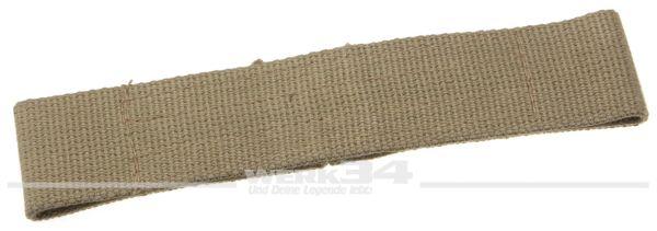 Türfangband für Klapptür, lang, beige, aus Stoff, passend von 55-60