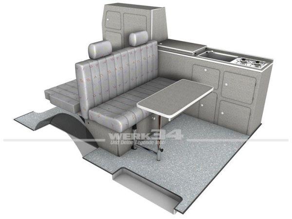 Ausbau Set Bel Ami passend für VW Bus T5 und T6 kurzer Radstand