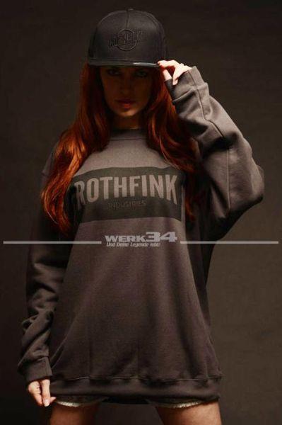 Rothfink Stealth Sweatshirt anthrazit, unisex S